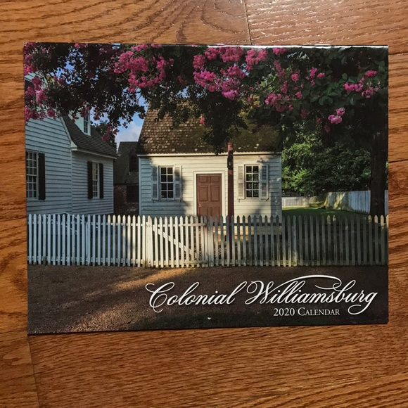 Colonial Williamsburg 2021 Calendar